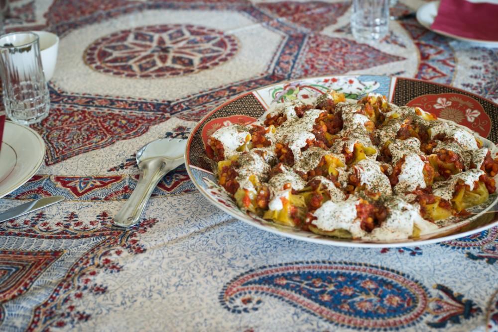 Mantu afghan dumplings adeline lumiere for Afghanistan cuisine food