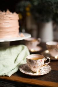 Coconut Vanilla Cake with Pommegranate Molasses-5
